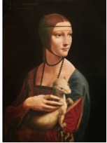 Figure 2. Lady With An Ermine. Leonardo Da Vinci 1490